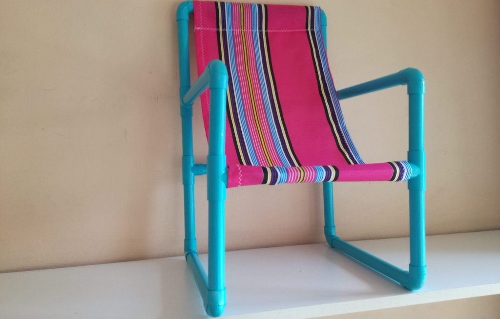 Finished PVC Chair